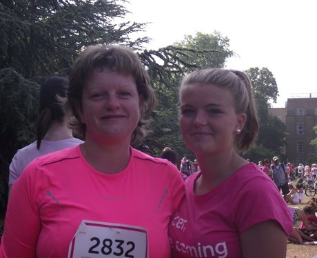Oxford Race for Life 2013 - Pink Ladies