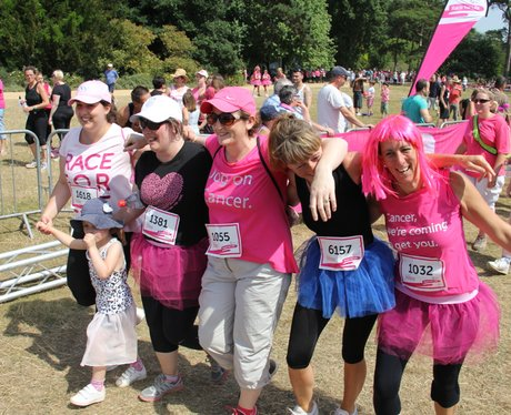 Oxford Race for Life Finish Line