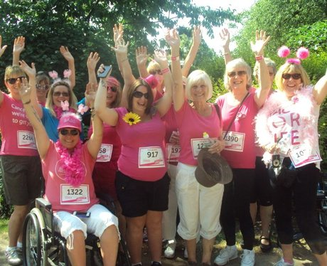 Race for Life Taunton - Pre Race