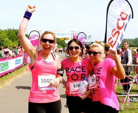 Stevenage R4L 2013 - Finish Line