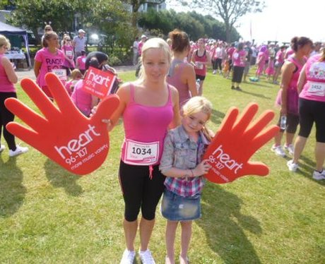 If you bumped into the Heart Angels at Race For Li