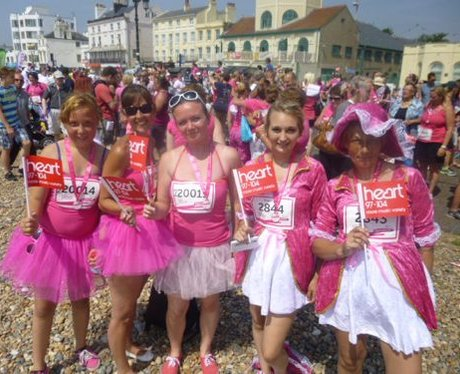 Did you see the Heart Angels at Worthing's Race Fo