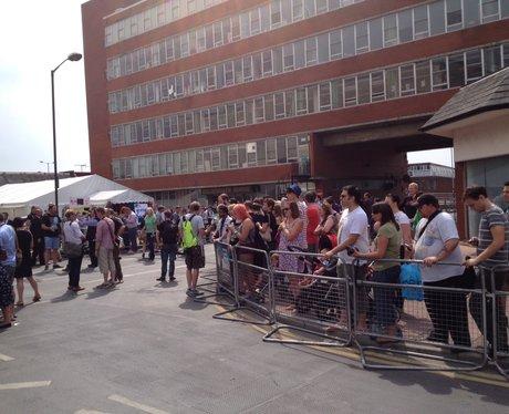 Crowds At Alan Partridge Premiere Norwich
