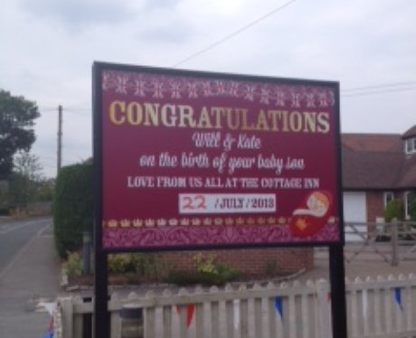 Celebrating A New Prince In Bucklebury
