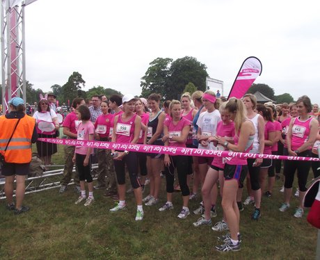 Cirencester Race for Life 2013 During