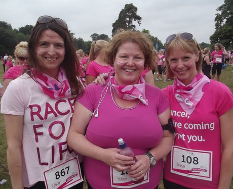 Cirencester Race for Life 2013 Pre
