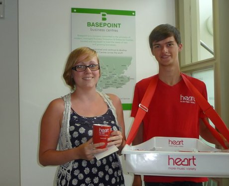 Heart Angels Visit Your Workplace