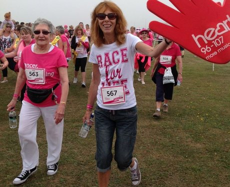 Margate Race For Life - The Race!