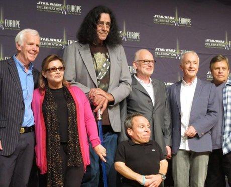 Original Star Wars cast at Star Wars Celebration