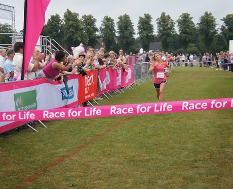 Rugby Race For Life - During The Race