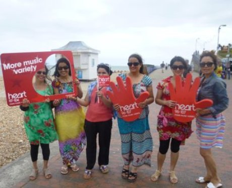 Did the Heart Angels see you in Sunny Eastbourne t