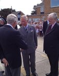 Prince Charles in Whitstable