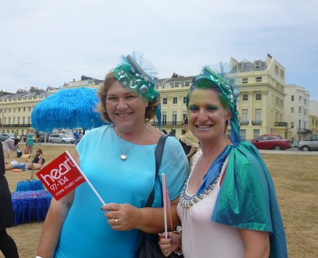 ere you at the 'March Of The Mermaids' on Hove law