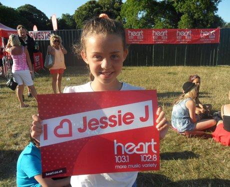 Jessie J at Quex Park 1