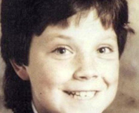 Robbie Williams as schoolboy