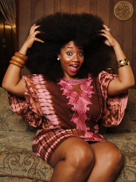 Aevin Dugas boasts the world's biggest afro.