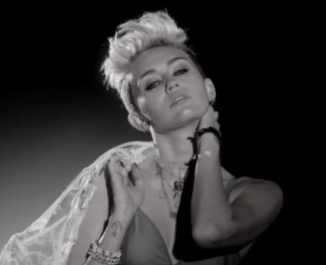 Miley Cyrus In Big Sean's 'Fire' Video