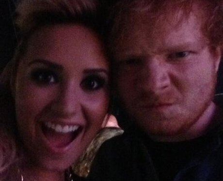 Demi Lovato and Ed Sheeran