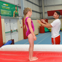 Louis Smith with Subway