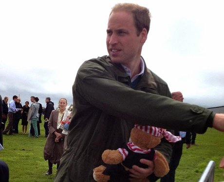 Prince William's Goodbye to Anglesey
