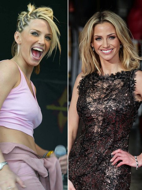 Sarah Harding: Then and Now