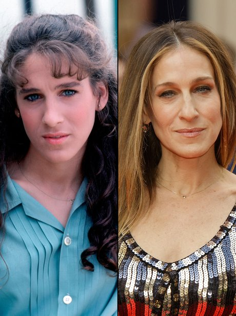 Sarah Jessica Parker: Then and Now