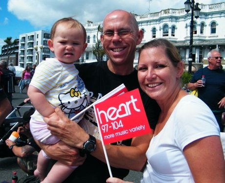 Did you bump into the Heart Angels at Worthing Bir