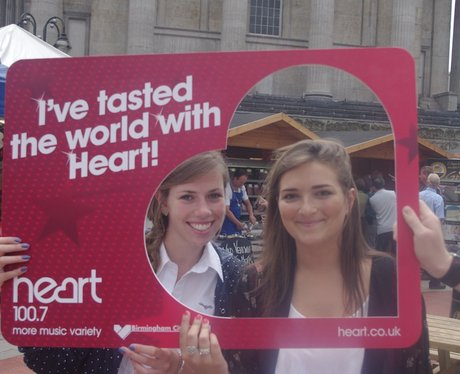 Birmingham International Food Fair with Heart