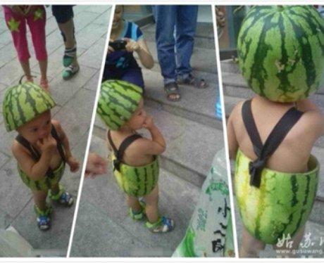 China's watermlon kids