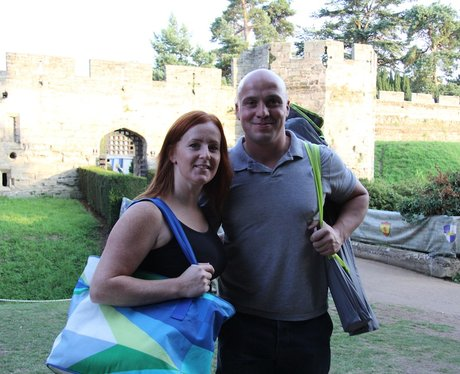 Gladiator at The Luna Cinema at Warwick Castle!