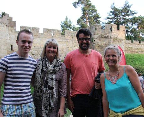 Gladiator at The Luna Cinema at Warwick Castle!