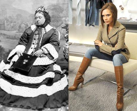 Queen Victoria and Victoria Beckham
