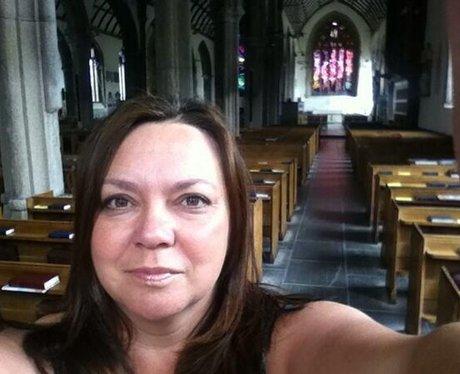 Sarah Greep locked in church
