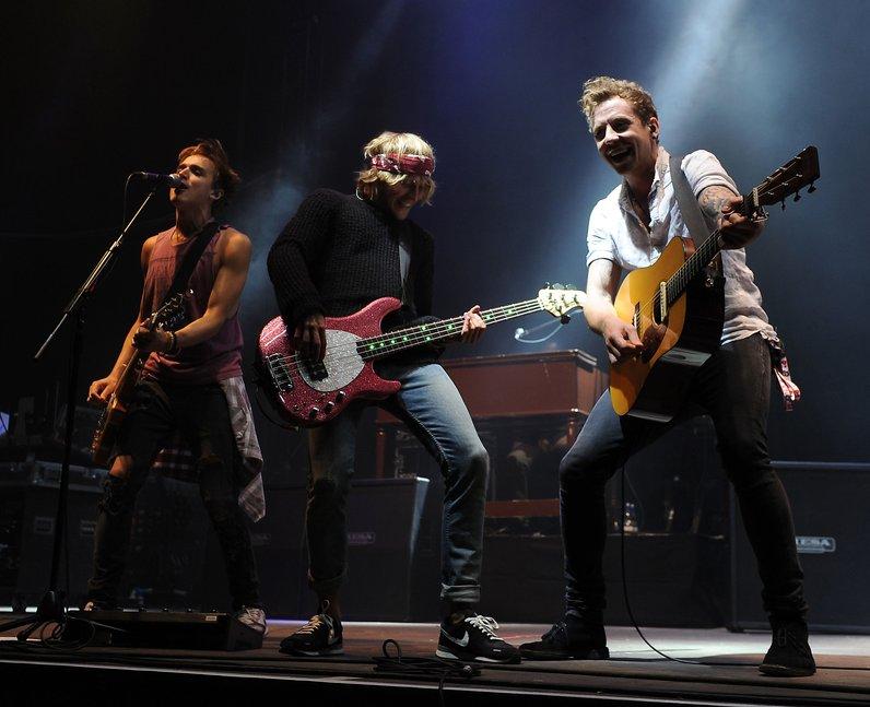 McFly at V Festival 2013