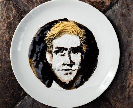 Ryan Gosling noodle art