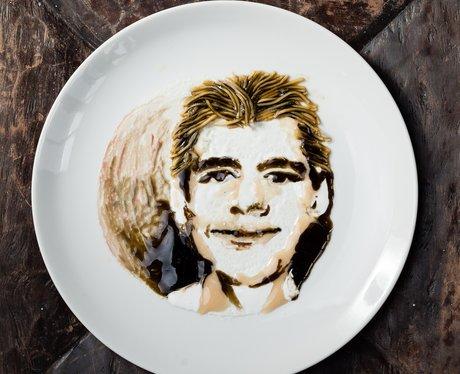 Simon Cowell noodle art