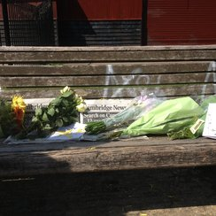 Tributes at River Cam