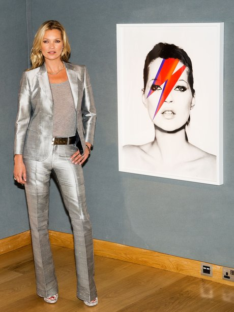 Kate Moss The Collection photocall