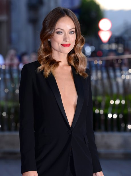 Olivia Wilde at Rush premiere London