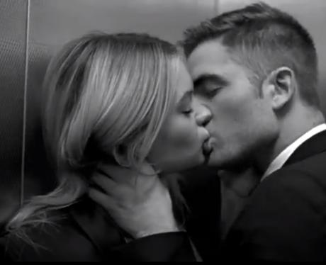 Robert Pattinson in the Dior Homme advert