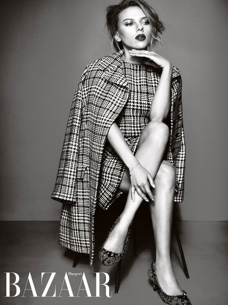 Scarlott Johansson Harper's Bazaar