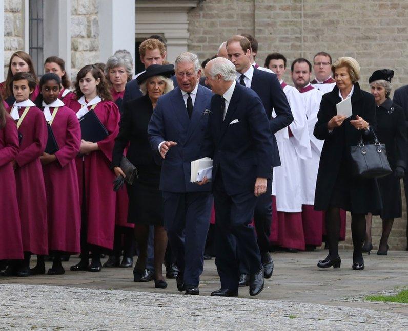 Hugh van Cutsem Funeral