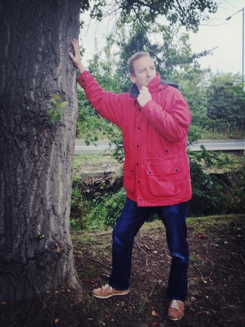 James' Red Coat
