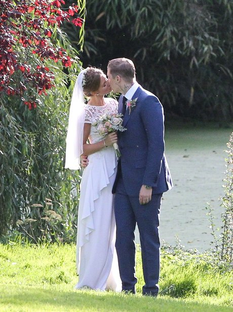 Professor Green and Millie Mackintosh wedding picture