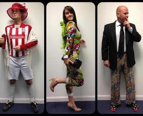 Tom, Nicola & Jack Dress up for Wonderful Weirdo's
