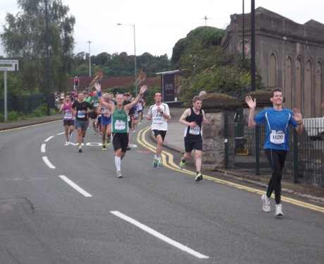 2013- Bristol Half Marathon- The Race Gallery Four