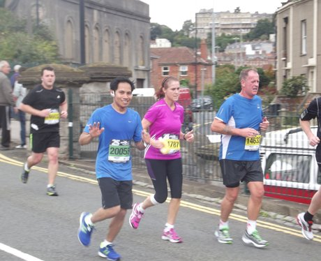 2013- Bristol Half Marathon- The Race Gallery Thre