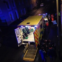 Reported stabbing on Norwich's Cathedral Street