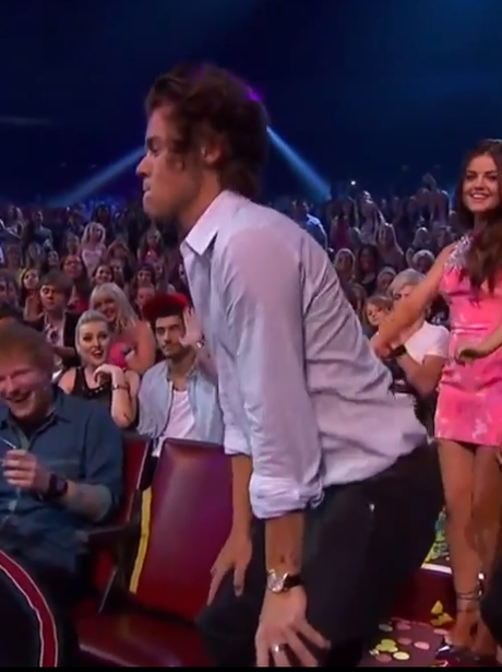 Harry Styles twerking