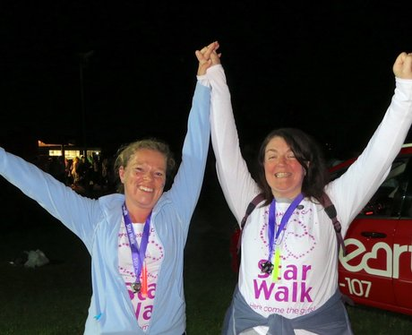 Keech Hospice Starwalk - Finish Line